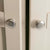 Padstow Stone Grey Large Larder Unit - Close up of  Door Handles