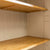 Padstow Stone Grey Large Larder Unit - Close up of  Cupboard Shelves