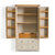 Padstow Stone Grey Large Larder Unit by Roseland Furniture