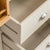 Padstow Stone Grey Large Larder Unit - Close up of drawers