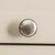 Padstow Stone Grey Small Larder Unit - Close Up of Cupboard Handle