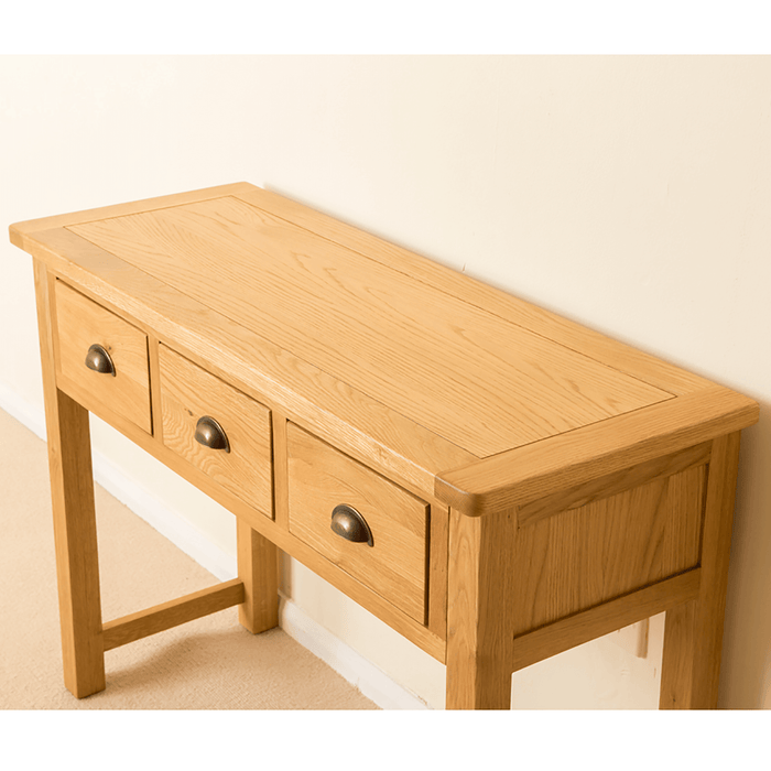 Roseland Oak Dressing/Console Table