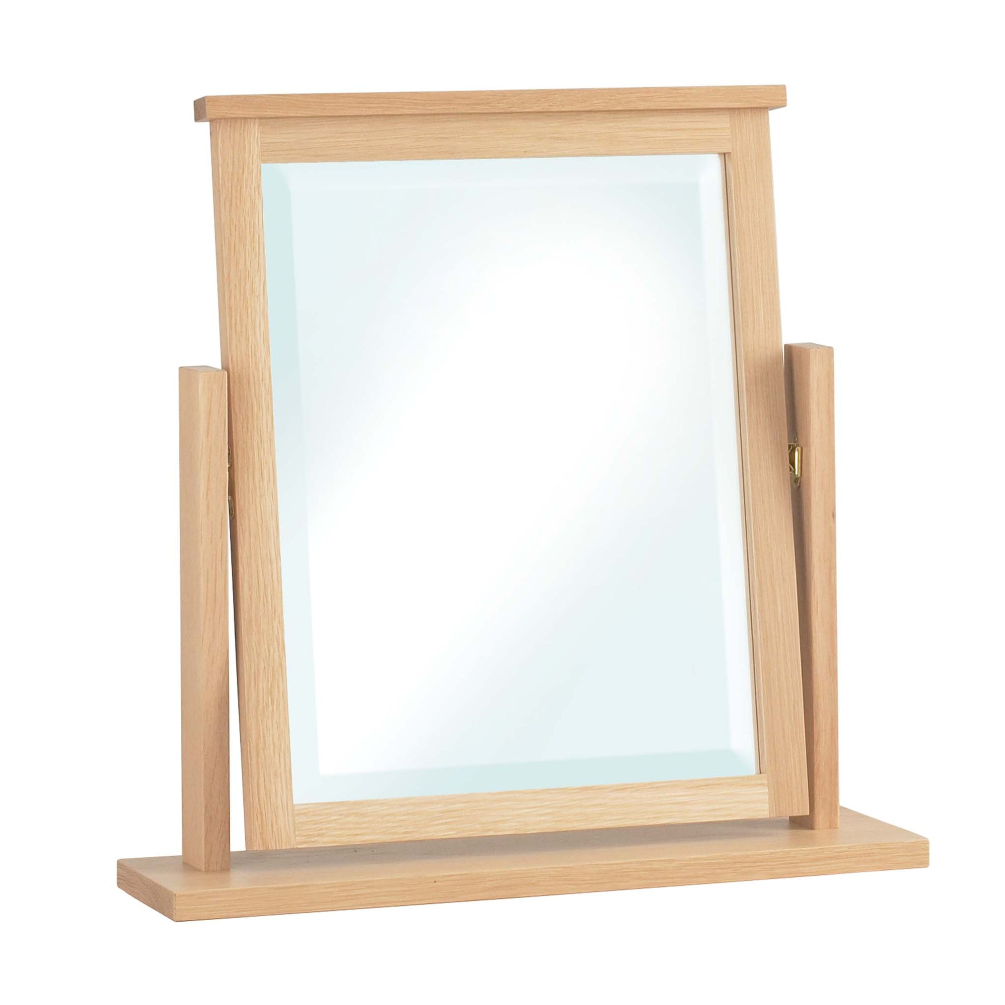 Falmouth Oak Dressing Table Mirror by Roseland Furniture