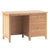 Falmouth Oak Desk with Filing Drawer by Roseland Furniture