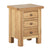 Charlestown Oak Bedside Table by Roseland Furniture