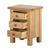 Charlestown Oak Bedside Table