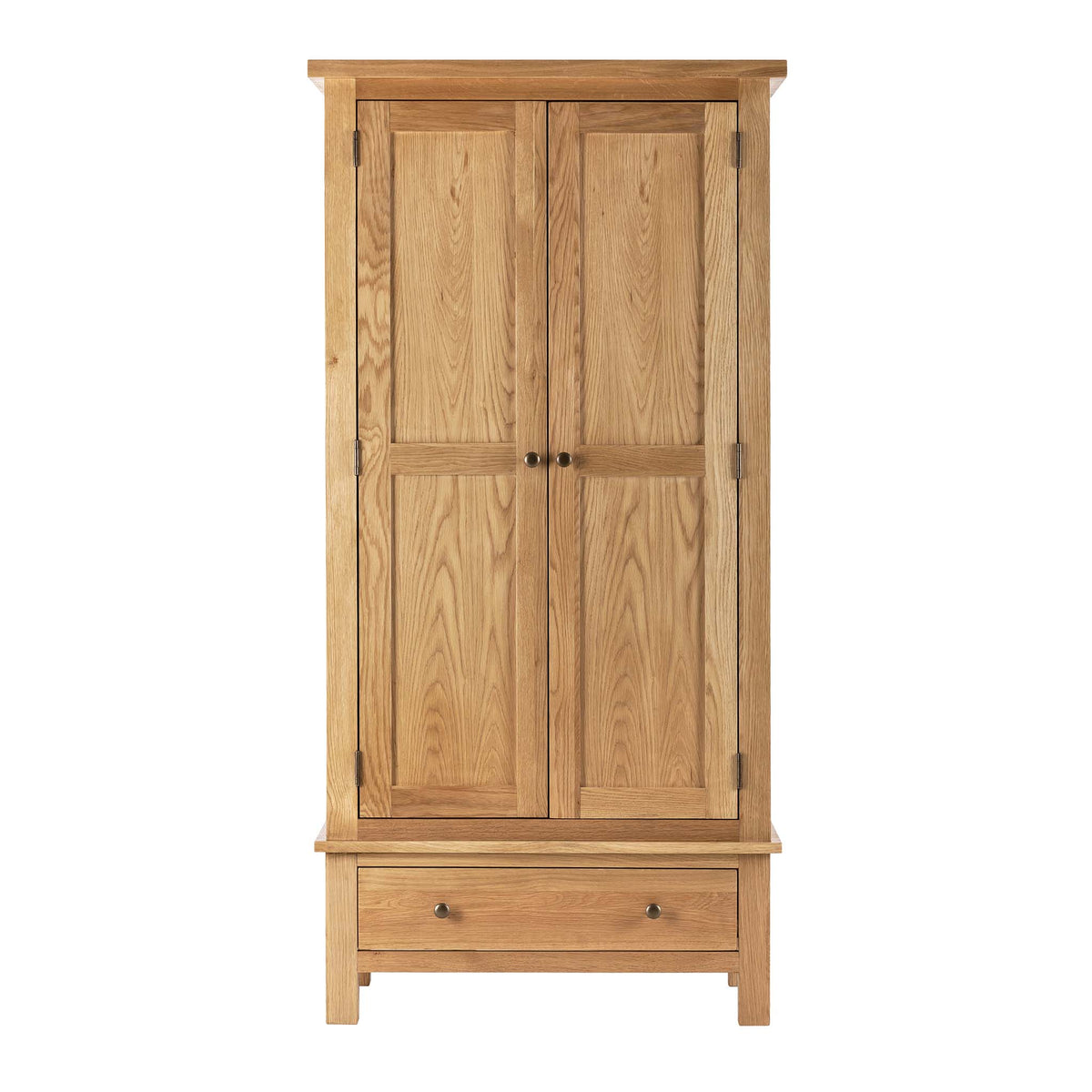 Charlestown Oak Double Wardrobe