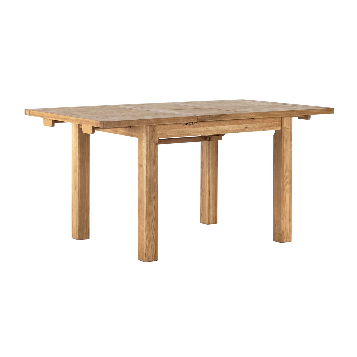 Charlestown Oak Extendable Dining Table by Roseland Furniture