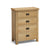 4 drawer unit - Surrey Oak 3 piece bedroom set