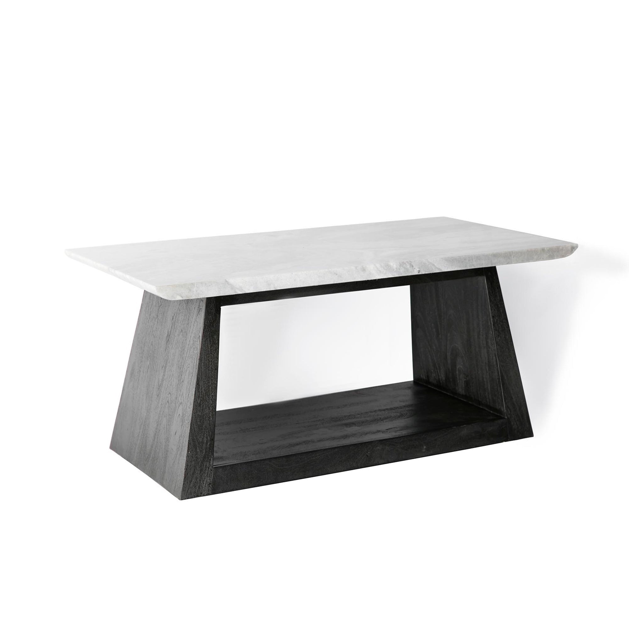 Genoa Coffee Table with Marble Top by Roseland Furniture