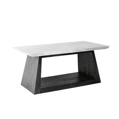 Genoa Coffee Table with Marble Top