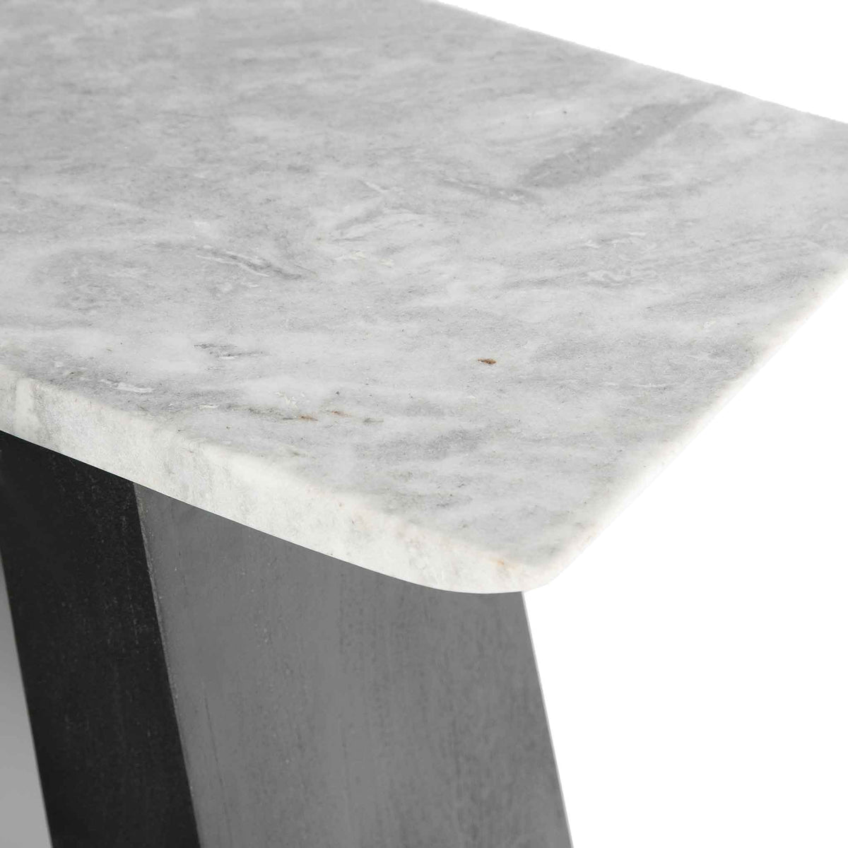 Genoa Console Table - Close up of the marble top