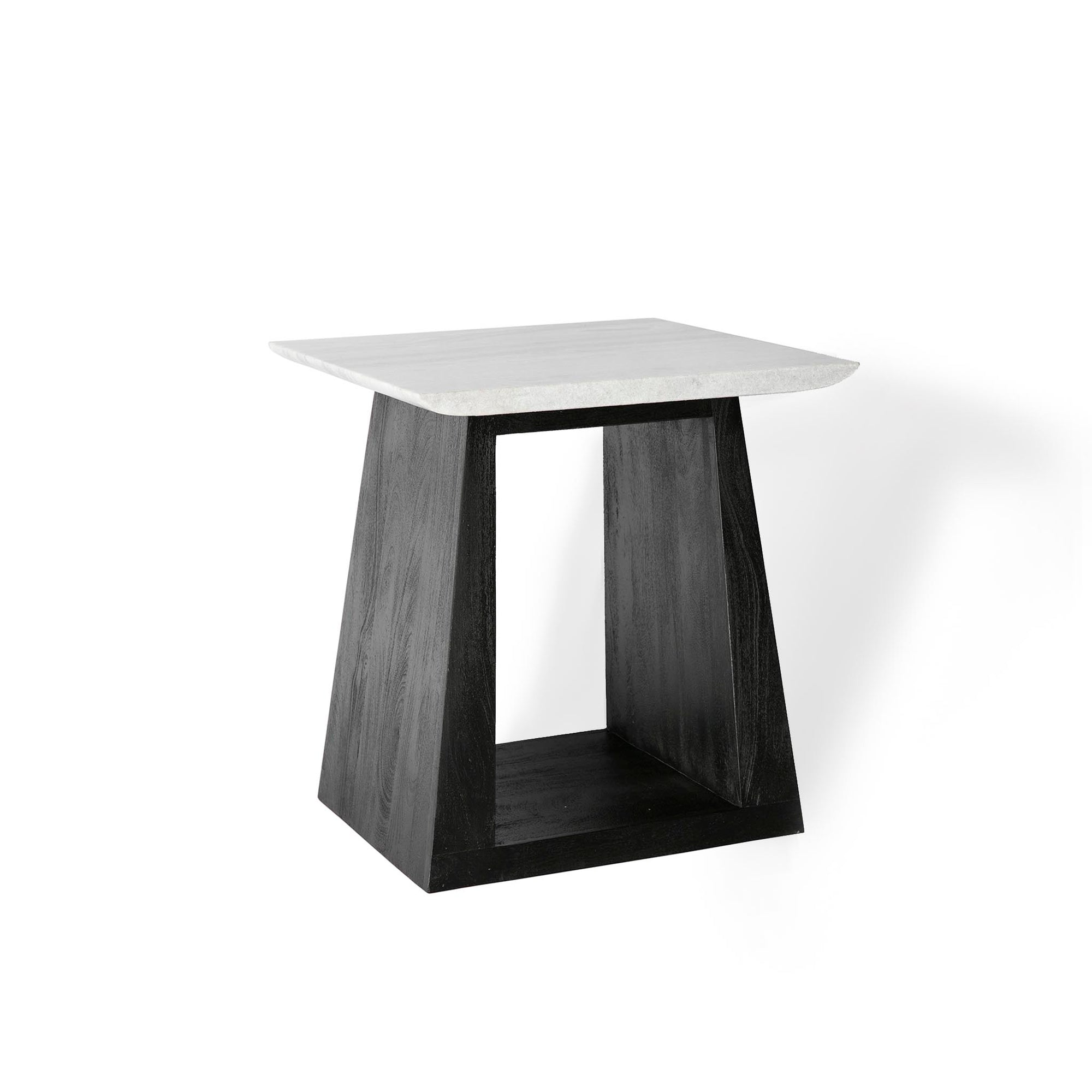 Genoa Small Lamp Table with Marble Top by Roseland Furniture
