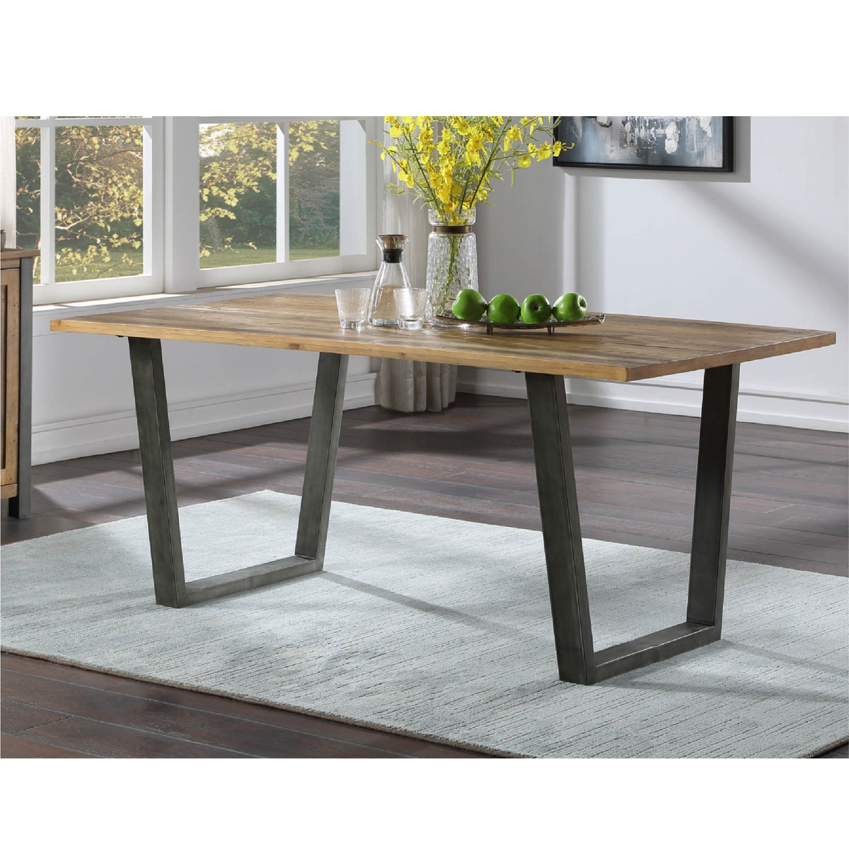 Urban Elegance Reclaimed Wood Dining Table