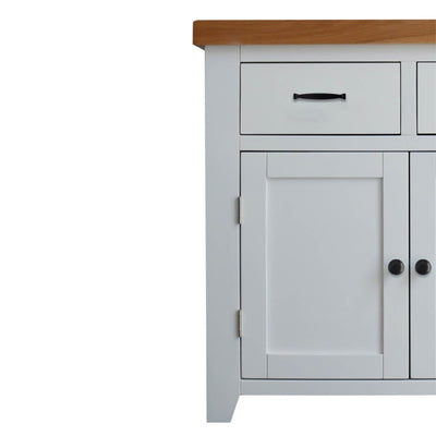Chatsworth White Small Sideboard