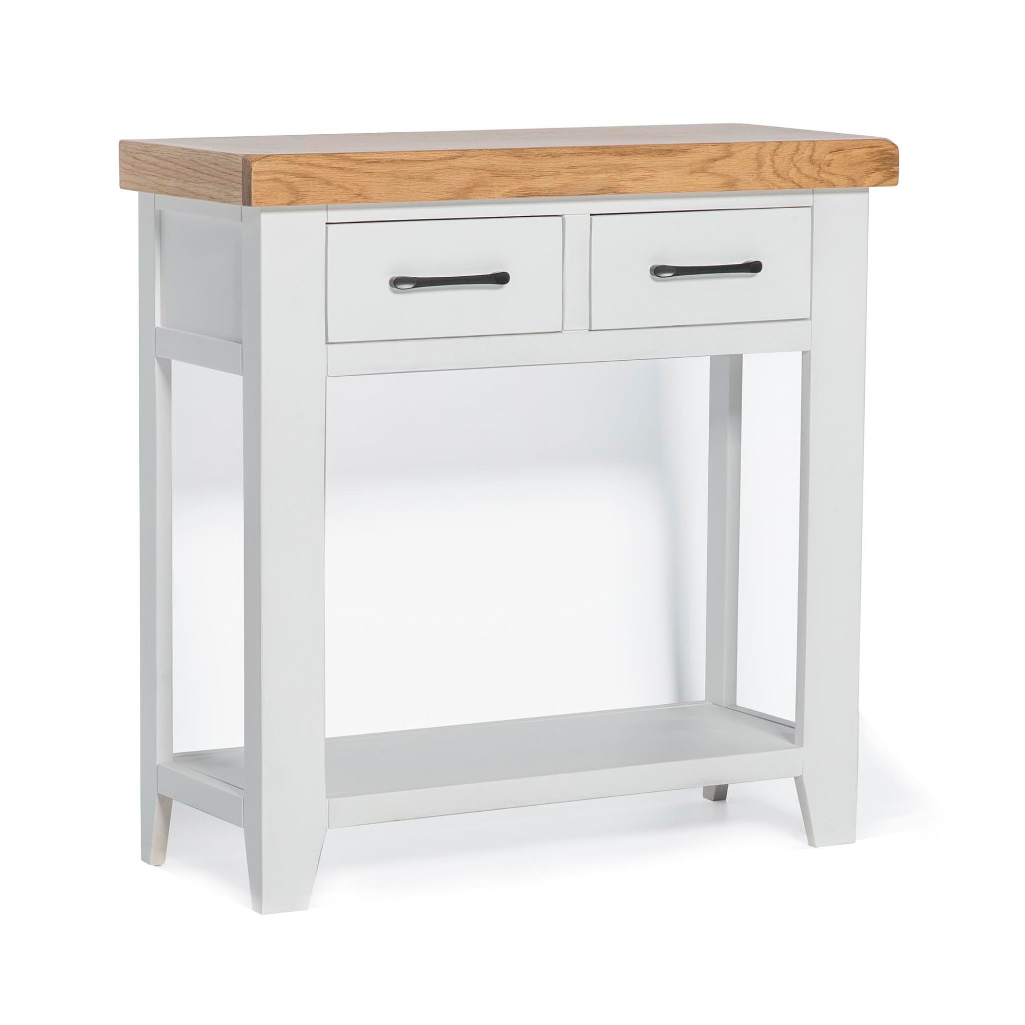 Chatsworth White Console Table by Roseland Furniture