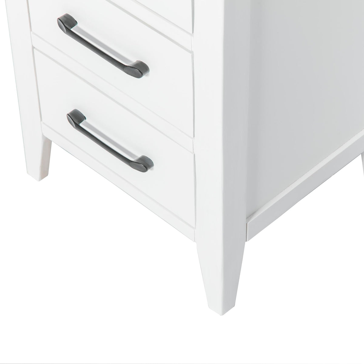 Chatsworth White Bedside Table