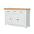 Chatsworth White Large Sideboard by Roseland Furniture