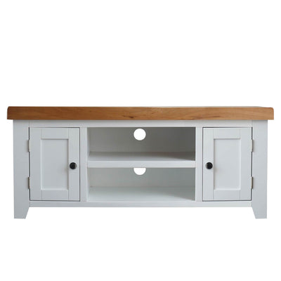 Chatsworth White 120cm Large TV Stand