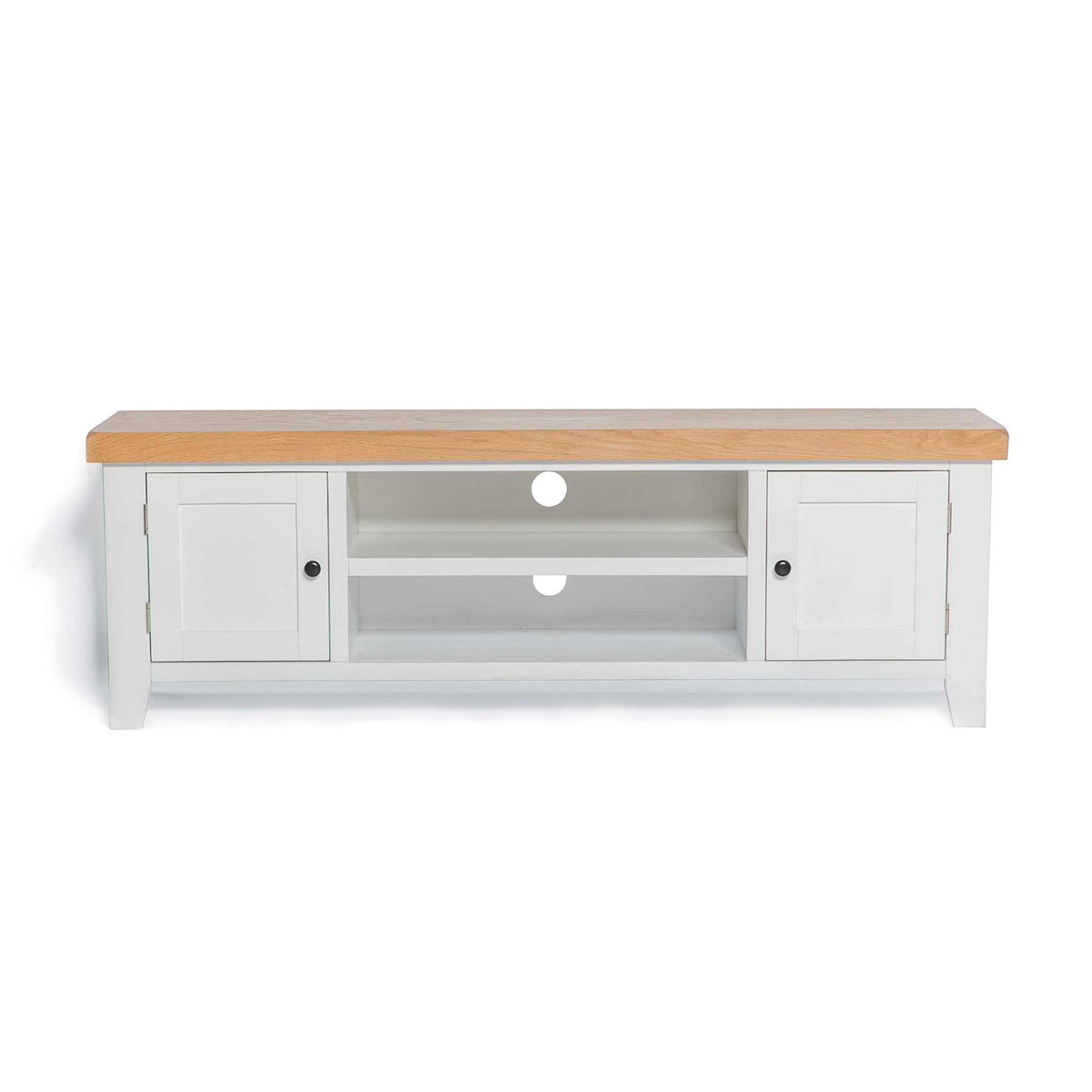 Chatsworth White 150cm Extra Large TV Stand