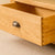 Drawer with dovetail joint - Roseland Oak Corner TV Stand