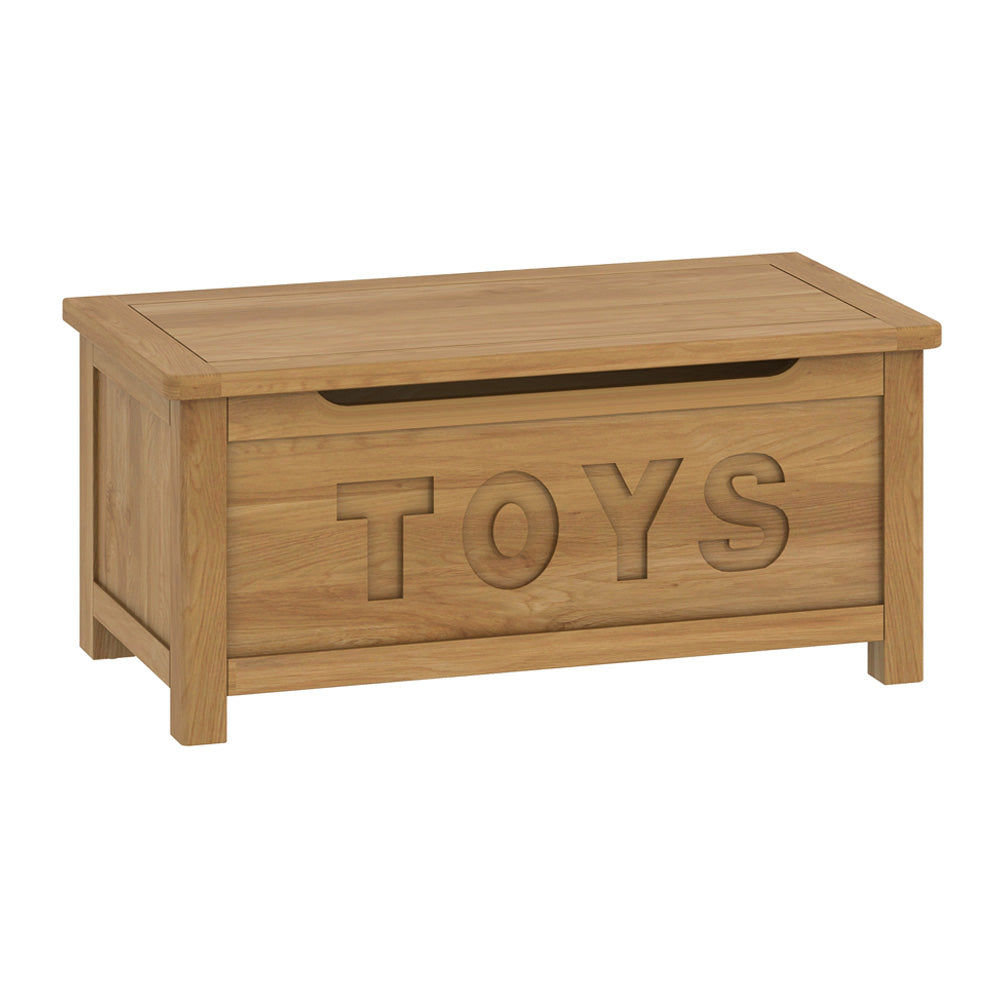 Roseland Oak Toy Box by Roseland Furniture