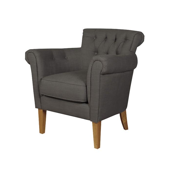 Finchley Charcoal Armchairs
