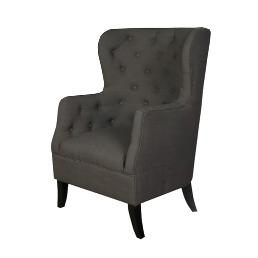 Fulham Charcoal Armchair