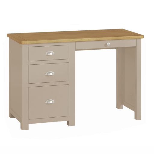 Padstow Grey Single Pedestal Desk