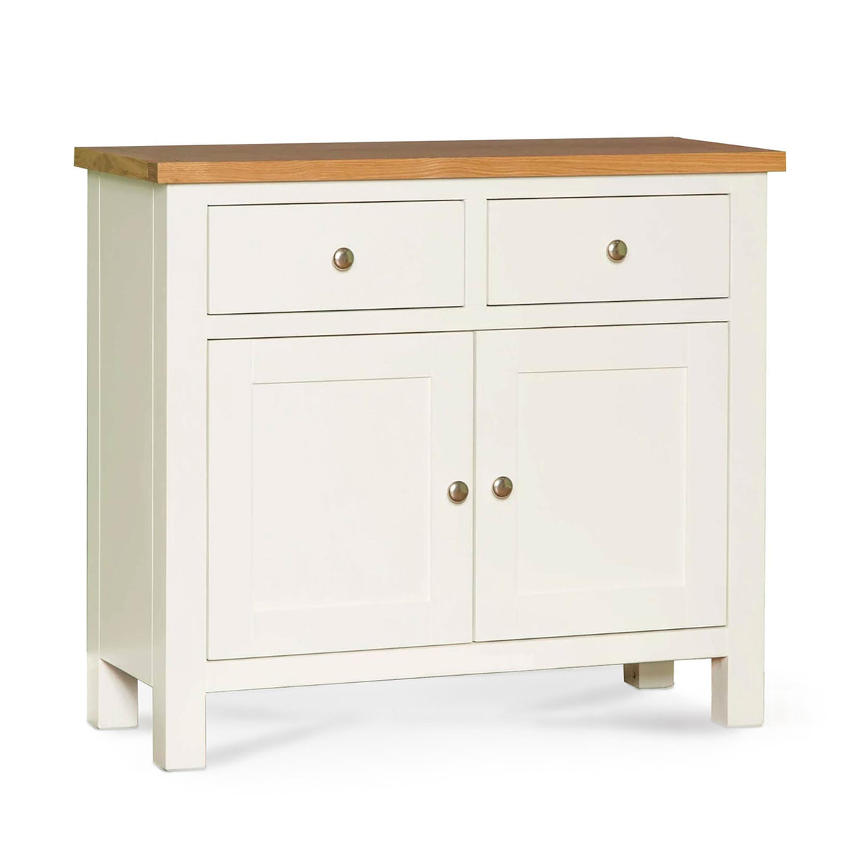 Farrow White Small Sideboard by Roseland Furniture