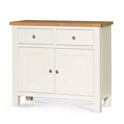Farrow White Small Sideboard - Side view