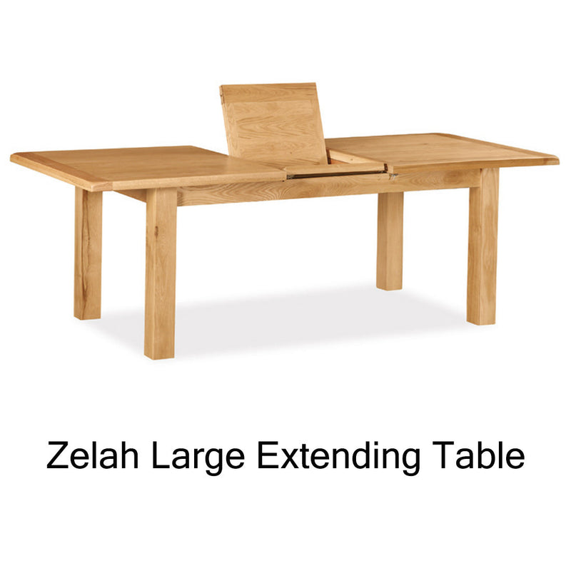 Zelah large extending table