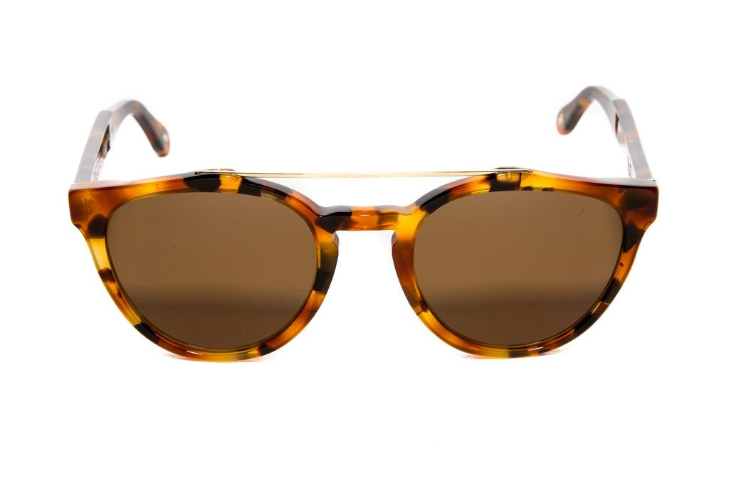 The Murray acetate frames with Carl Zeiss lenses. These retro frames are 100% handmade in Italy.