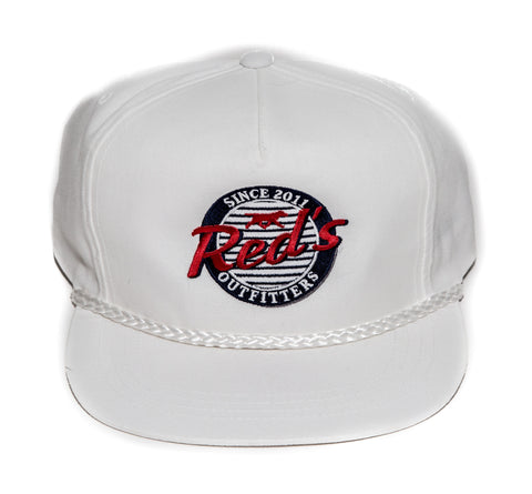 Red's Signature Hat- White