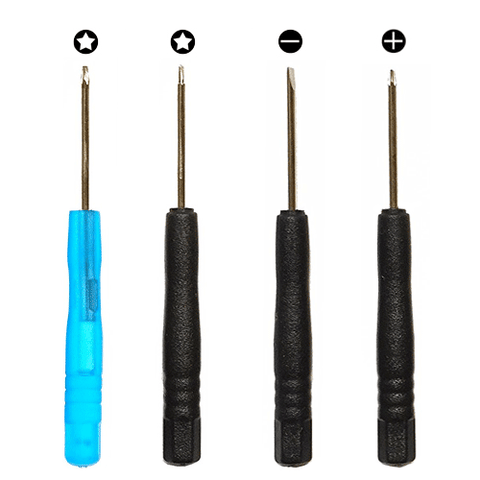 4-Piece Screwdriver Set / Repair Tool Kit for iPhones, Laptops, Tablets, Watches and Other Personal Electronic Devices