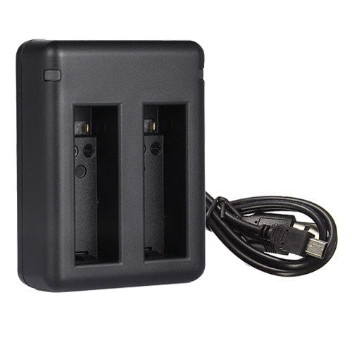 Dual Charger for GoPro AHDBT-401 Batteries