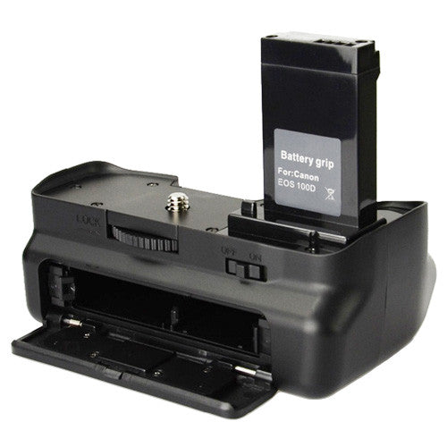 Vertical Battery Grip for Canon EOS Rebel SL1 / 100D Cameras