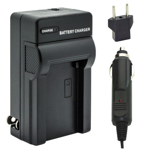 VW-BC10 Charger for Panasonic VW-VBL090, VW-VBK180, VW-VBK360, VW-VBY100, VW-VBT190, and VW-VBT380 Batteries