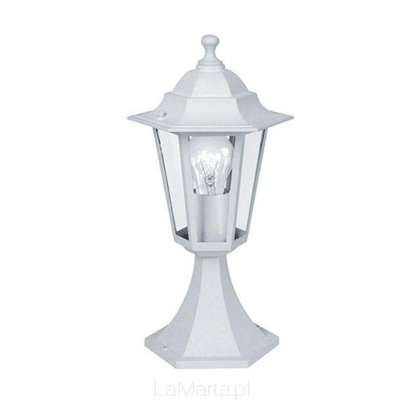 Eglo laterna 5 white finish outdoor pedestal light 22466 eglo laterna 5 white finish outdoor pedestal light 22466 by eglo outdoor lighting aloadofball Choice Image