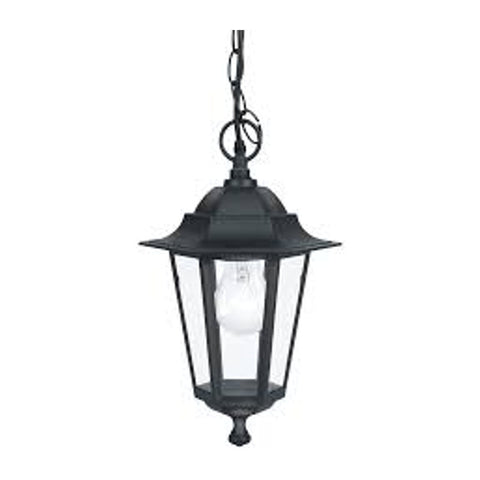 Outdoor lighting sale clearance lines eglo laterna 4 black finish outdoor pendant light 22471 aloadofball Choice Image