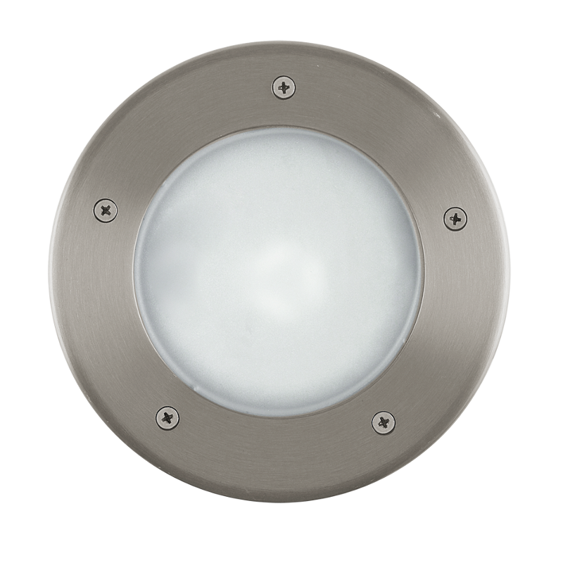 Eglo Riga 3 Stainless Steel Finish Outdoor Recessed Ground Light 86189 By Lighting