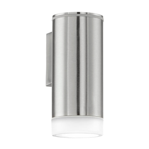 Eglo Riga Stainless Steel Finish Outdoor LED Wall Light 92735