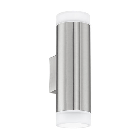 Eglo Riga Stainless Steel Finish Outdoor 2 Light LED Wall 92736