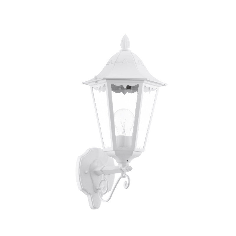 Eglo navedo white finish outdoor wall light 93446 eglo navedo white finish outdoor wall light 93446 by eglo outdoor lighting mozeypictures Images