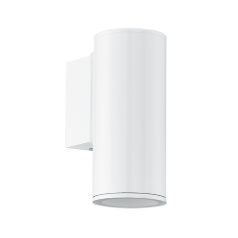 Eglo Riga White Finish Outdoor LED Wall Light 94099