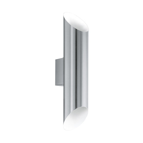 Eglo Agolada Stainless Steel Finish Outdoor 2 Light LED Wall 94803