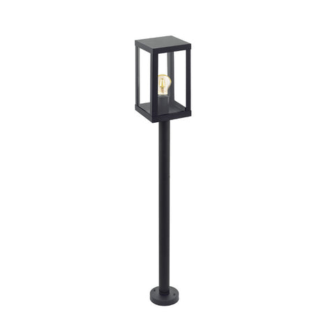 Traditional outdoor lighting outdoorandgardenlightingcentre eglo alamonte black finish outdoor pillar light 94833 aloadofball Gallery