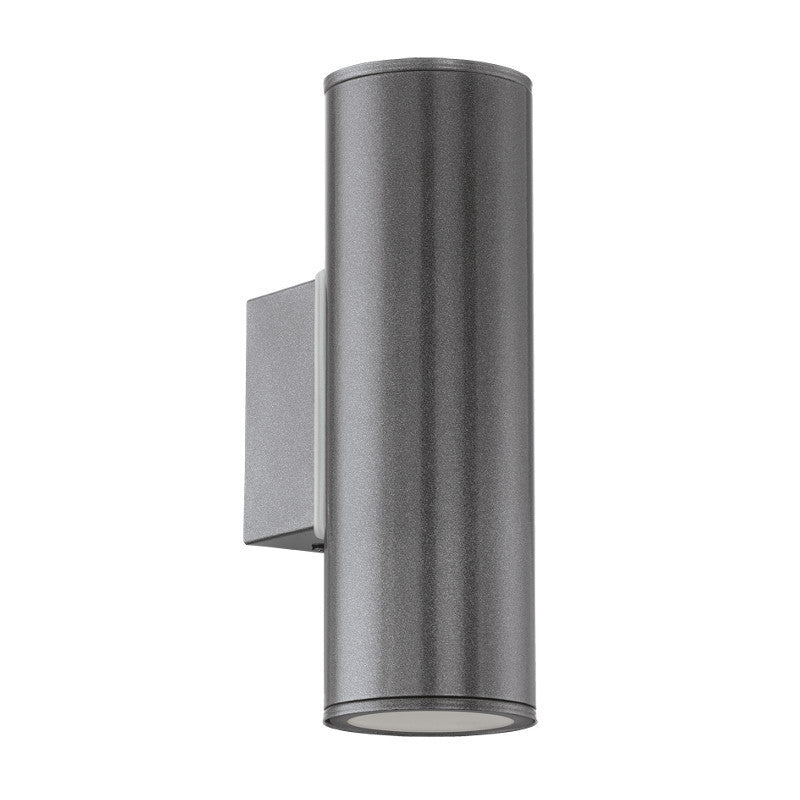 Eglo riga anthracite finish outdoor 2 light led wall light 94103 eglo riga anthracite finish outdoor 2 light led wall light 94103 by eglo outdoor lighting mozeypictures Images