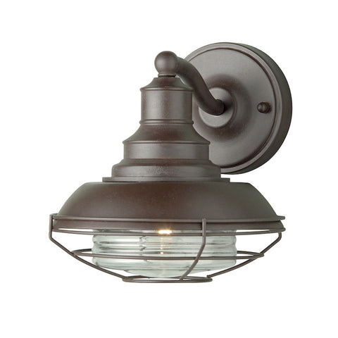 Elstead Euston Old Bronze Finish Outdoor Wall Lantern