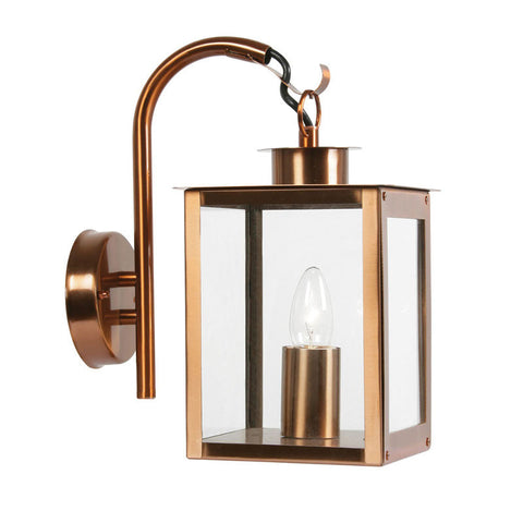 Copper outdoor lights outdoorandgardenlightingcentre oaks saxton copper finish outdoor wall light 536 dn cu mozeypictures Images